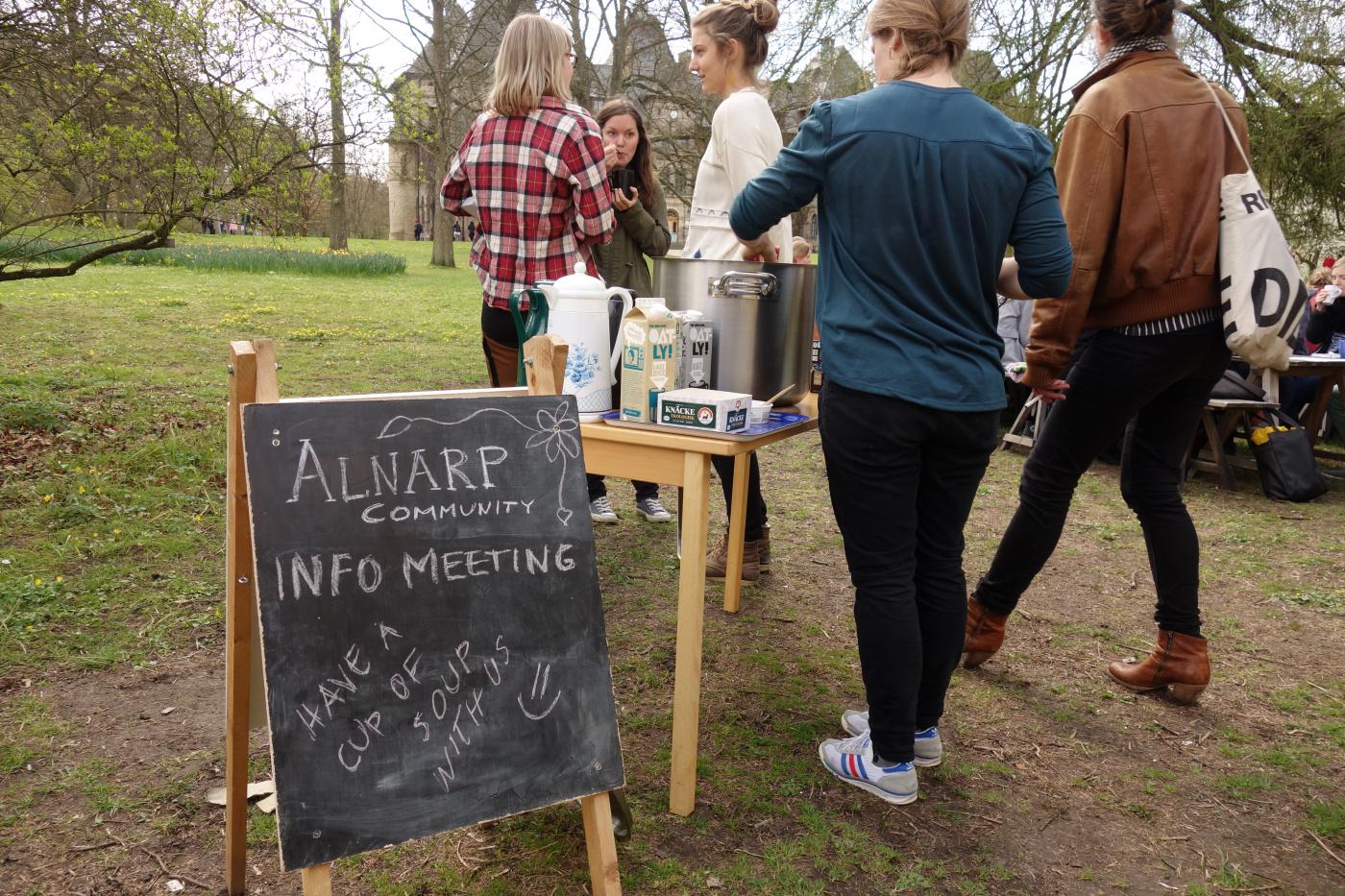 Länk till Alnarp Community's hemsida!