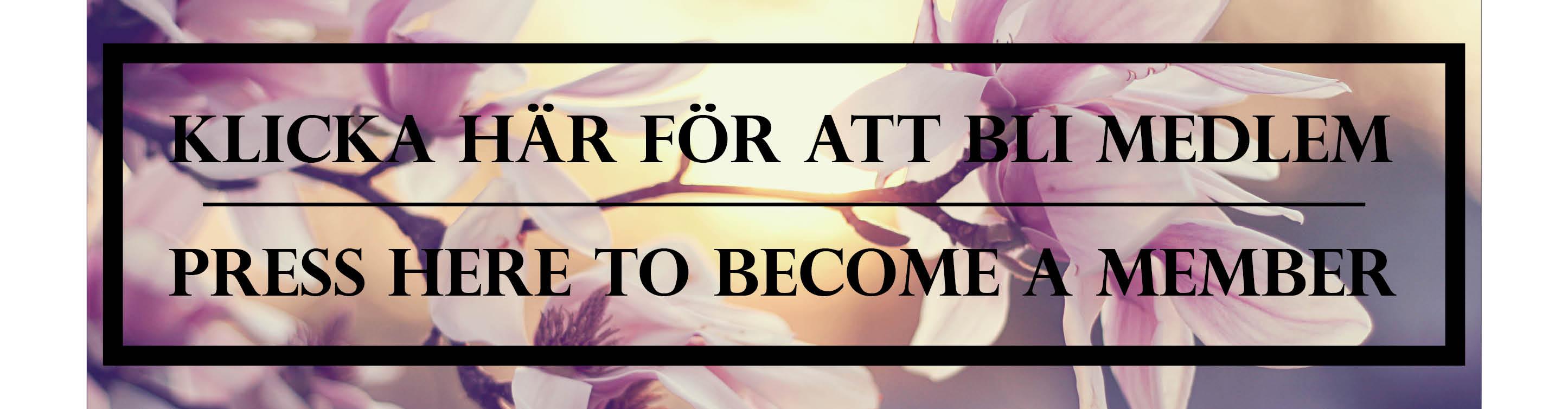 Bli medlem / Become a member